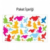 Dinozorlar 148x88 cm Duvar Sticker-2