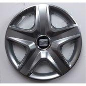 Seat Leon 16 inch Kırılmaz Esnek Jant Kapağı Takımı 4 Lü