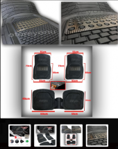 Hyundai İX20 2011-2014  3D Havuzlu Kauçuk Paspas Takımı-3