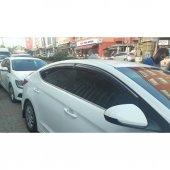 Hyundai Elantra 2015 Snr. Kromlu Cam Rüzgarık & Yağmurluk Takımı