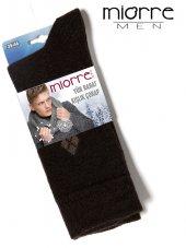 Miorre Yün Mini Ekoseli Erkek Çorabı