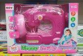 Happy Family Pilli Sesli Işıklı Dikiş Makinası