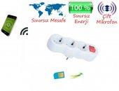 Dinleme Cihazı Kablosuz 3 Lü Priz Ortam Ses Dinleme Cihazı İrhanlar