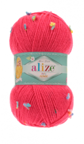 Alize Baby Flower El Örgü İpliği