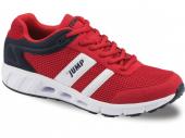 Jump 10078 Kırmızı Fileli Erkek Bayan Spor Ayakkabısı