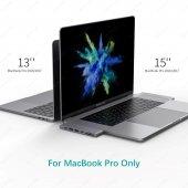 Ucouso Usb-cx2 Hdmı 4K Usb 3.0 Şarj Msd Typ-c Hub MacBook Aparat A1706 A1708 A1707 A1989 A1990 1302-6