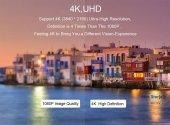 Ucouso Usb-cx2 Hdmı 4K Usb 3.0 Şarj Msd Typ-c Hub MacBook Aparat A1706 A1708 A1707 A1989 A1990 1302-7