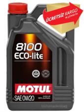Motul 8100 Eco Lite Sae 0w20 4 Litre