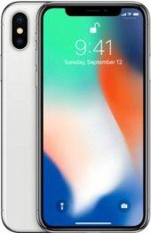Apple iPhone X 64 GB Silver Gümüş ( Apple Türkiye Garantili )