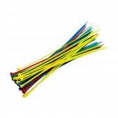 Rjx Hobby Kablo Kelepçesi (3x150mm X 40 Adet Çoklu Renk)