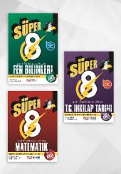 Süper 8.sınıf Yeni Nesil Soru Bankası 3'lü Set Nitelik Yayınları