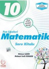 10. Sınıf Fen Liseleri Matematik Soru Kitabı Palme Kitabevi