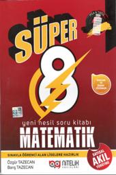 Süper 8. Sınıf Matematik Sayısal Akıl Yürütme Nitelik Yayınları