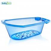 Babyjem Bebek Banyo Küveti Mavi Şef Desenli