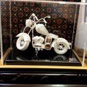 925 Ayar gümüş Telkari EL İşçiliği Motor Modeli