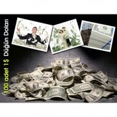 oyuncak PARA - 100 Adet 1 Dolar-4