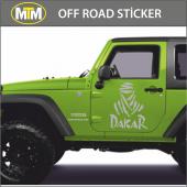 Dakar Off Road Oto Sticker