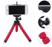 Ahtapot Selfie Tripod Cep Telefon Tutucu Akrobat Stand 28 Cm-3