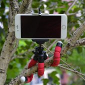 Ahtapot Selfie Tripod Cep Telefon Tutucu Akrobat Stand 28 Cm-6