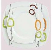 Sıla Porselen 24 Parça Yemek Takımı