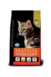 Kısırlaştırılmış Kediler için Somonlu Mama 1,5 Kg Matisse