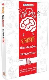 Benim Hocam Yayınları 7. Sınıf Tüm Dersler Yaprak Test