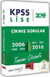 Yargı Yayınları 2018 Kpss Lise Tamamı Çözümlü 2006 2016 Çıkmış Sorular