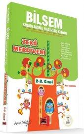 Yargı Yayınları 2. Ve 3. Sınıf Zeka Merdiveni Bilsem Sınavlarına Hazırlık Kitabı