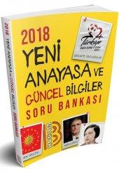 Benim Hocam Yayınları 2018 Yeni Anayasa ve Güncel Bilgiler Soru Bankası