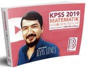 Benim Hocam Yayınları 2019 KPSS Matematik Video Ders Notları