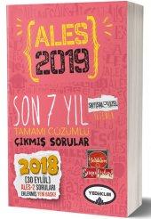 Yediiklim Yayınları 2019 Ales Son 7 Yıl Tamamı Çözümlü Çıkmış Sorular(30 Eylül Ales 2 Ekli)