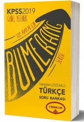 Yediiklim Yayınları 2019 Kpss Bumerang Türkçe...