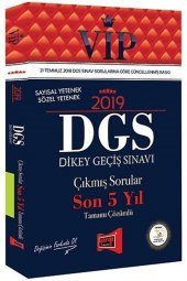 Yargı Yayınları 2019 Dgs Vıp Sayısal Sözel Yetenek Son 5 Yıl Tamamı Çözümlü Çıkmış Sorular