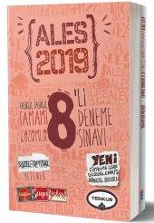 Yediiklim Yayınları 2019 Ales Tamamı Çözümlü 8 Li Deneme Sınavı