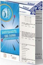 Benim Hocam Yayınları 6. Sınıf Matematik Çek Kopar Yaprak Test