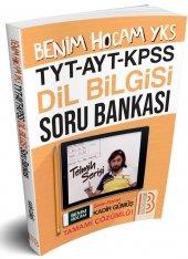 Benim Hocam Yayınları Tyt Ayt Kpss Dil Bilgisi Çözümlü Soru Bankası