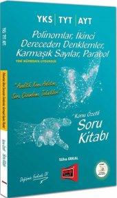 Yargı Yayınları Yks Tyt Ayt Polinomlar İkinci Dereceden Denklemler Karmaşık Sayılar Parabol Konu Özetli Soru Kitabı