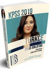 Benim Hocam Yayınları 2019 Kpss Türkçe Konu Anlatımlı