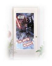 Star Wars Kapı Afişi Doğum Günü Parti 76x152