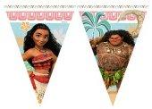 Prenses Moana Bayrak Flama 2.3mt Doğum Günü Parti