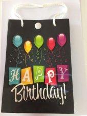 1 Adet Happy Birthday Müzikli Çanta Hediyelik