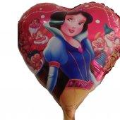 1 Adet Pamuk Prenses Folyo Şekilli Uçan Balon 50cm x 45cm-3