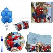 Spiderman Partisi , Örümcek Adam Doğumgünü 24 kişilik 12 parça-6