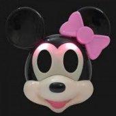 1 Adet Minnie Mouse Işıklı Maske Kız Parti Malzemesi-2