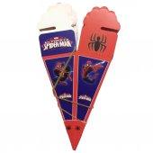 50 Adet Örümcek Adam Spider Man Konsepti Külah Şeker Lokum Kutusu