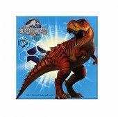20 Adet Dinazor Peçete Dinozor Parti Temasi Jurassic World