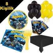 8 Kişilik Batman Doğum Günü Süsleri, Parti Konsepti Malzemeleri-3