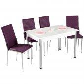Mutfak Masası Masa Sandalye Masa Takımı Yemek Masası-2