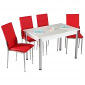 Mutfak Masası Masa Sandalye Masa Takımı Yemek Masası-3