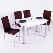 Mutfak Masası Masa Sandalye Masa Takımı Yemek Masası-8